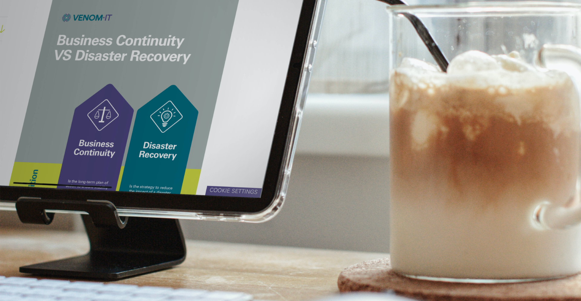 Business Continuity-Disaster Recovery Comparison - Infographic